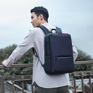 Image 4 - Классический деловой рюкзак Xiaomi, водонепроницаемая уличная Дорожная сумка унисекс для ноутбука 5,6 дюйма, 18 л