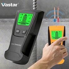 Vastar металлоискатель найти металл, дерево, штифты AC напряжение живой провод обнаружения стены сканер электрическая коробка искателя стены детектор