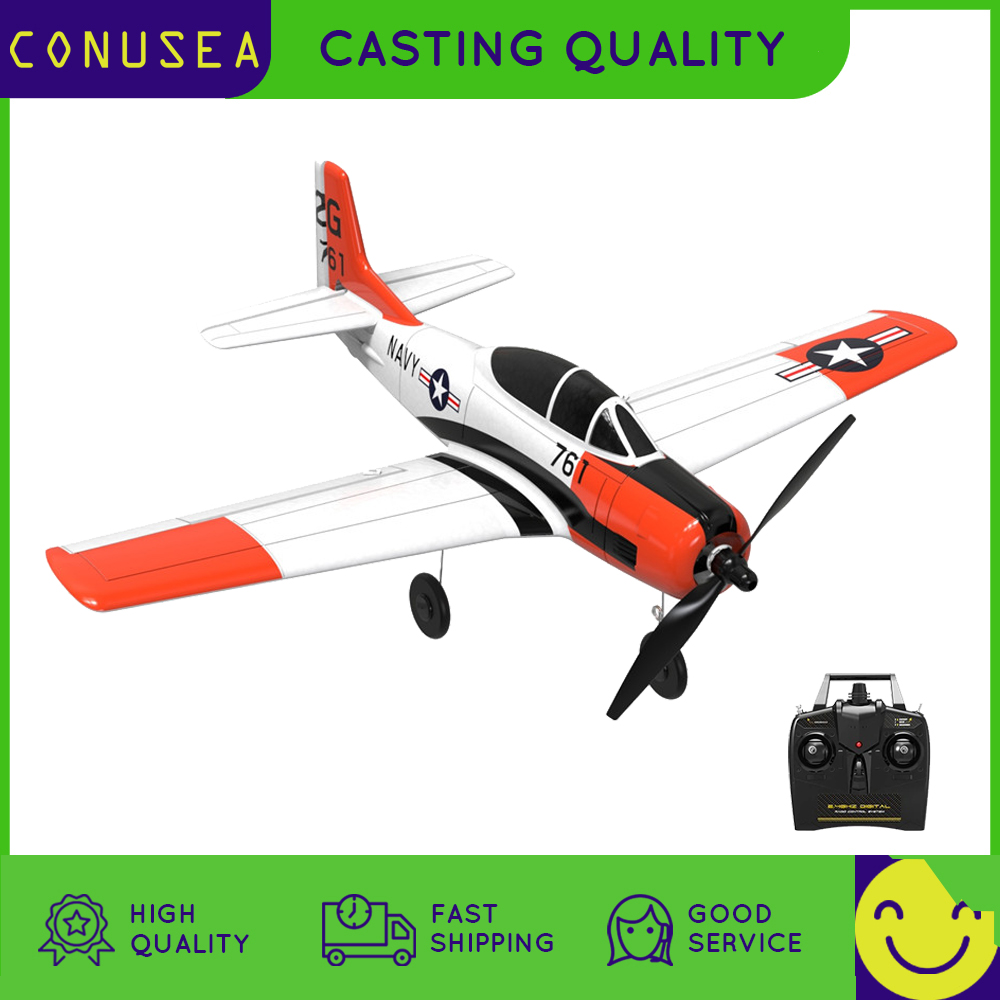 761-9 RC Airplane Plane Model EPP 400mm Wingspan 2.4G 6-Axis Gyro Trainer Fixed Wing RTF One Key Return for Beginner