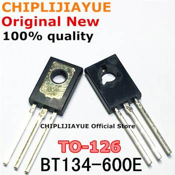 10PCS BT134-600E TO126 BT134-600 BT134 600E TO-126 New and Original IC Chipset - discount item  10% OFF Active Components