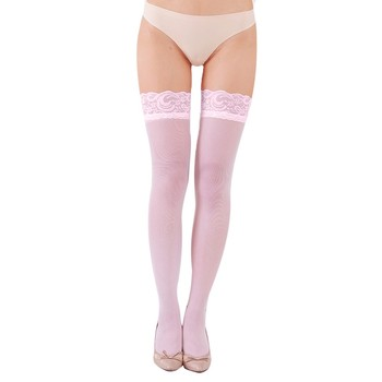 Fashion Sexy Womens Erotic Lingerie Net Lace Top Thigh Stocking Pantyhose Hosiery collants mulher knee socks medias de mujer image