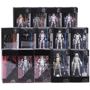 Stormtrooper Darth Maul Darth Vader The Black Series PVC Action Figure Collectible Model Toy 14 Types