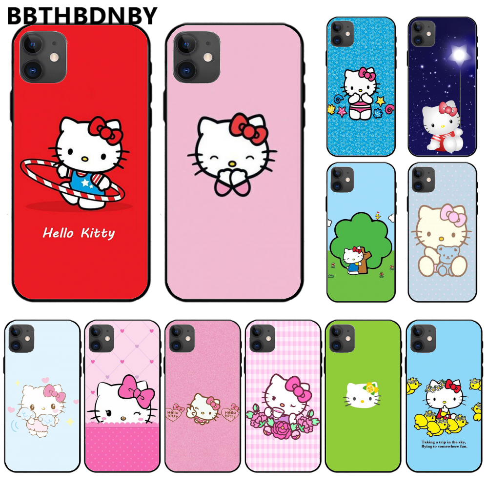 Hello-kitty Luxury Unique Design <font><b>Phone</b></font> Cover For <font><b>iphone</b></font> 11 pro max x xs xr 7 8 plus 6 6s 5 5s <font><b>5se</b></font> image