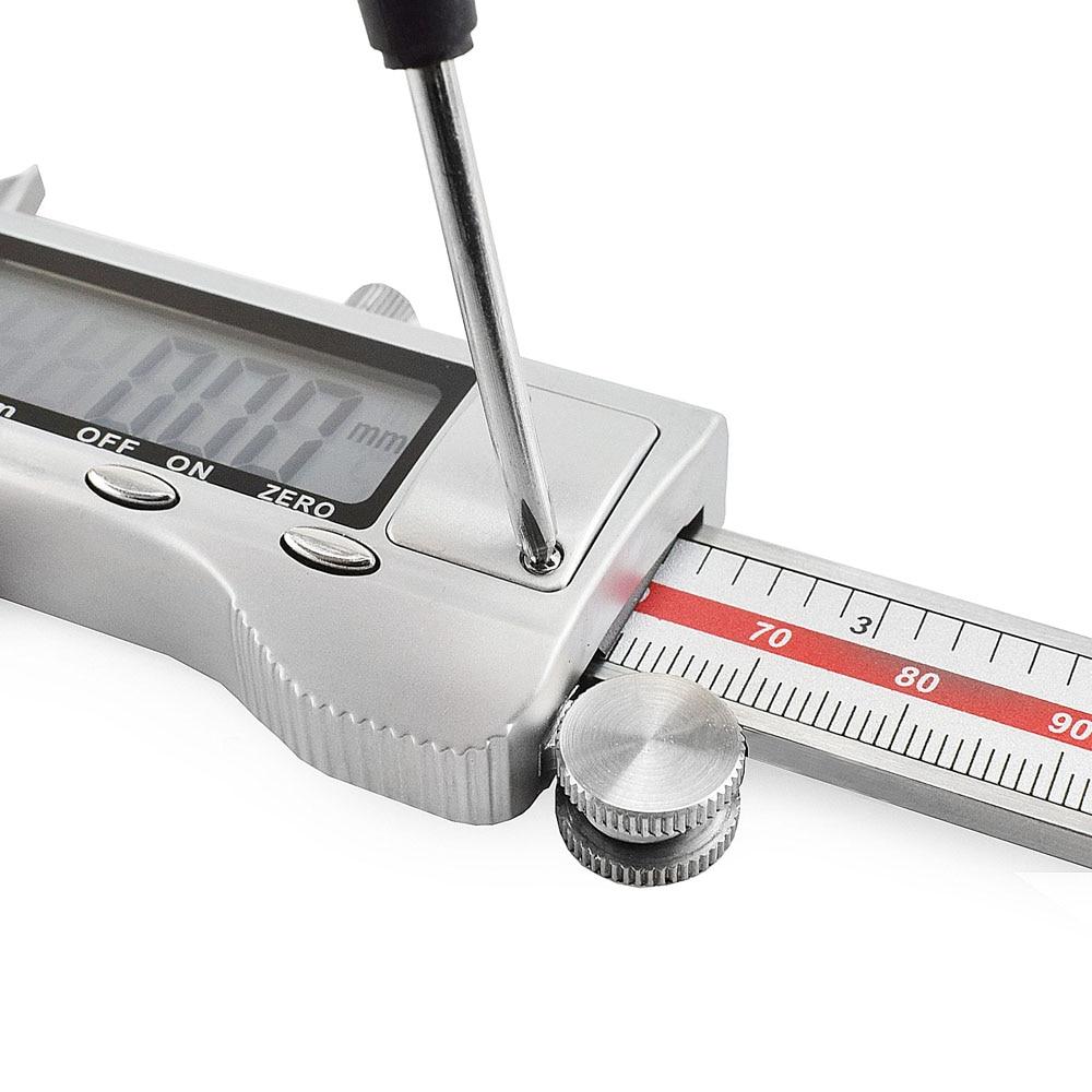 NEWACALOX 150 mm / 0,01 mm LCD obrazovka digitální měřicí - Měřicí přístroje - Fotografie 3