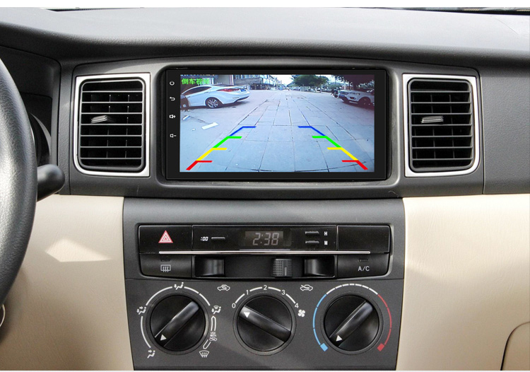 gps estéreo multimidia auto player retrovisor