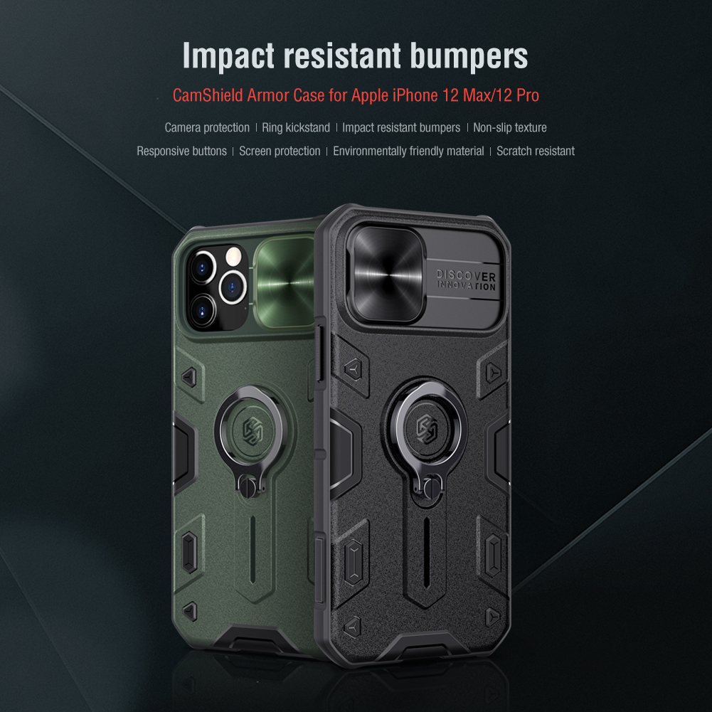 Camshield Armor Case Slide Camera Protective Cover Case For iPhone 12 Series