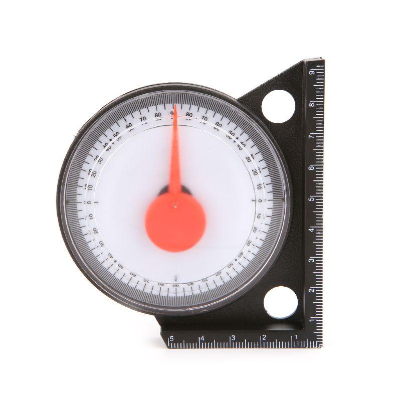 1PC Slope Inclinometer Protractor Angle Finder Tilt Level Meter Clinometer Gauge With Magnetic Base