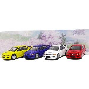 Image 1 - Goc 1/64 mitsubishi lancer evolution ix 2006 evo 9 diecast modelo de carro