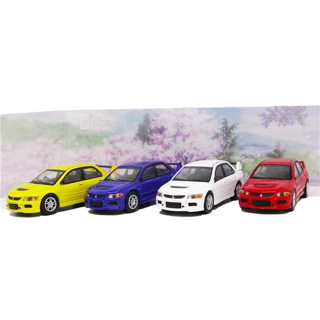 Goc 1/64 mitsubishi lancer evolution ix 2006 evo 9 diecast modelo de carro