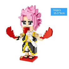 hot LegoINGlys creators anime FAIRY TAIL figure Etherious Natsu Dragneel mini micro diamond building block model nano brick toys good smile anime pvc 1 7 fairy tail natsu dragnir action figure natsu dragneel model toy decoration collections men gift 23cm