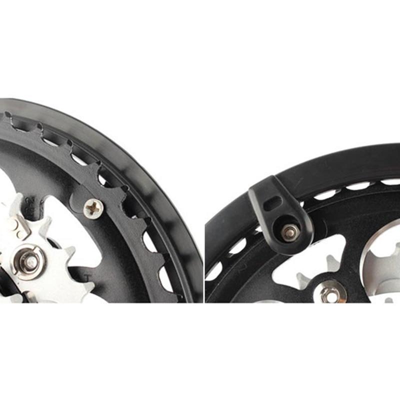 5-Holes MTB Bicycle Bike Chain Wheel Crankset Cap Protect Cover Guard Plastic