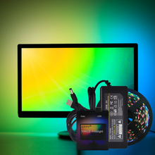 Ambilight WS2812B RGB USB LED Strip light HDTV TV Desktop PC Screen Backlight lighting ws2812 Tape Ribbon 1M 2M 3M 4M 5M