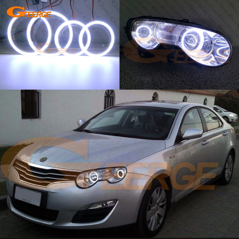Pour Roewe 550 MG 550 2008 2009 2010 2011 2012 Excellent kit yeux d'ange à led Ultra lumineux