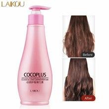 LAIKOU Curl Enhancer Long-lasting Moisturizing Hair Styling Product Anti Frizz Volumizing Gel Hair Elastin Curly Cream Hair Care