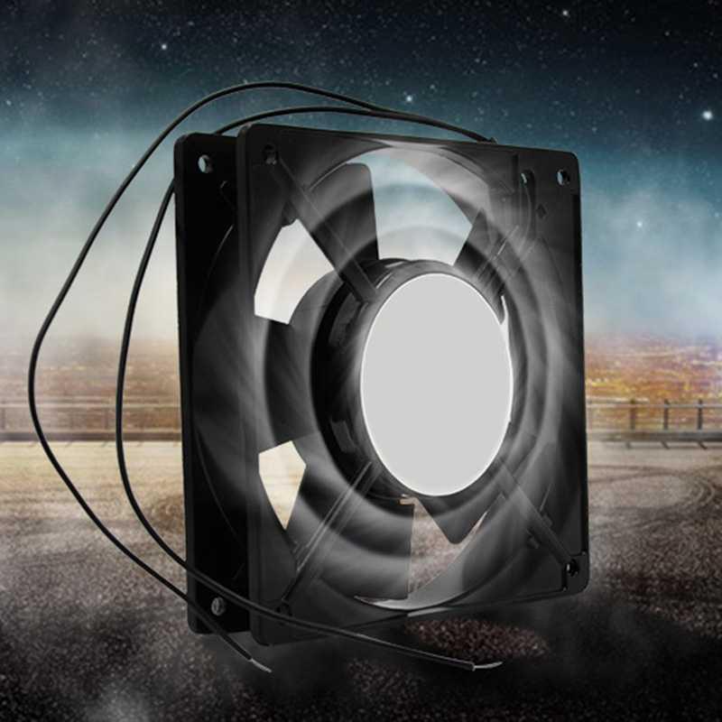 Автоматический инкубатор вытяжной вентилятор металлические лопасти