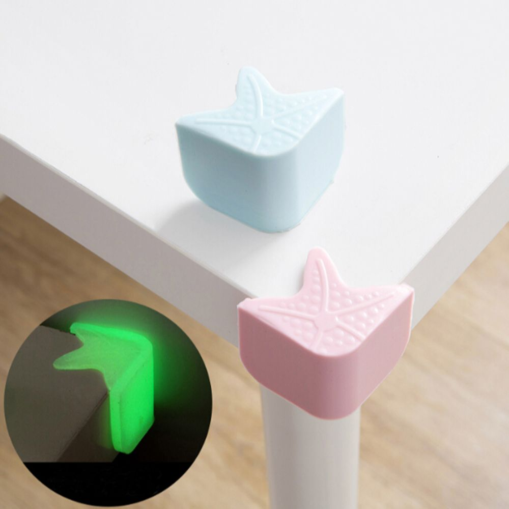 4Pcs/Set Corner Protector Soft Child Safety Corner Guard Table Bed Collision Edge Cover Kids Protection Thick Design Qualities