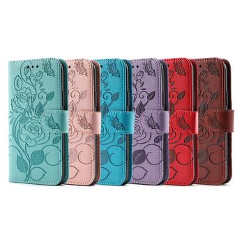 2021nowe produkty różowe skórzane etui do Oneplus7 8 9 Pro Mbossed portfel z klapką Oneplus 8t Nord Bracke luksusowe etui na telefon komórkowy tanie i dobre opinie CN (pochodzenie) Etui z portfelem W stylu rysunkowym