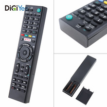 цена RMTTX200E Intelligent Replacement TV Remote Control Support 2 x AAA Batteries with Long Distance for For-Sony LED 3D Smart TV онлайн в 2017 году