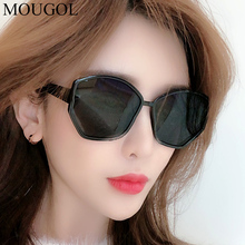 MOUGOL 2019 new wave anti-UV round face mens sunglasses glasses Korean net red Europe and the United States