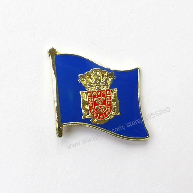 Galicia Historical Region Pin Badge