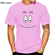Barbapapa 1970s cartoon rosto t camisa