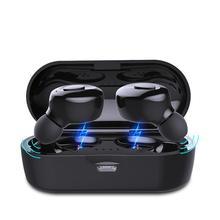 Bluetooth V5.0 אוזניות TWS אמיתי אלחוטי אוזניות ב אוזן אוזניות עמיד למים מיני אוזניות HiFI סטריאו ספורט אפרכסת