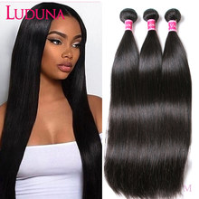 Straight Human Hair Weave Bundles Peerless Hair for Black Woman Straight Bundles(China)