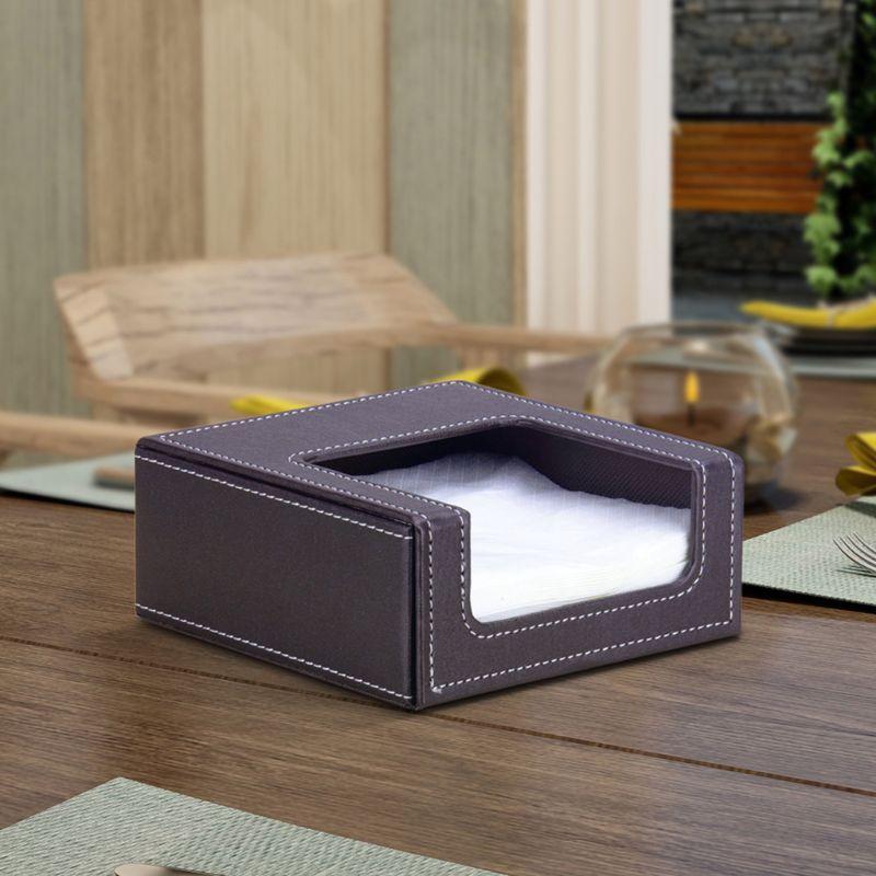 Caja de Pa/ñuelos de Madera Dispensador de Pa/ñuelos Para Sal/ón O Dormitorio Oficina