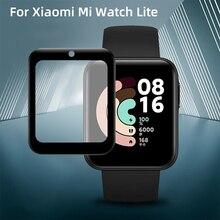 Zachte Fibre Glas Beschermende Film Voor Xiaomi Mi Horloge Lite Global Versie Full Screen Protector Voor Redmi Horloge Lite Sikai