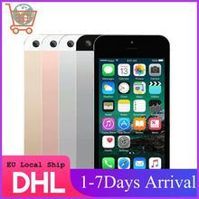 Apple-teléfono inteligente iPhone SE A1723, móvil con reconocimiento de huella dactilar, doble núcleo, 4G, LTE, 2GB de RAM, 16/32/64GB de ROM, ID táctil, IOS, envío Local