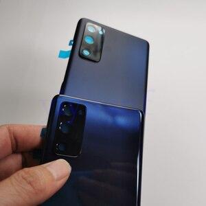 Image 5 - Hàng Chính Hãng Samsung Galaxy S20 FE 5G Pin Nhựa Nhà Ở Mặt Sau Ốp Lưng Thay Thế Cửa Hầm Đạn Phía Sau Keo Dán S20FE 4G