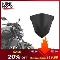Kemimoto Voor Yamaha MT07 MT 07 Voorruit Voorruit Voor FZ07 2014 2015 2016 2017 Windgeleiders Motorfiets Accessoires-in Windschermen en windgeleiders van Auto´s & Motoren op