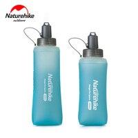 Naturehike tpu anti microbiano copo de silicone esportes ao ar livre garrafa de água correndo copos de água NH17S028 B null     -