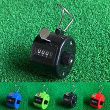 1pc 4 Digit Number golf scorer Mini Portable Outdoor Golf Contra easy Reset Reset Device Golf Accessories Sports Golf counter