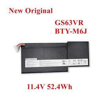 New Original Laptop replacement Li-ion Battery for msi GS63VR GS73VR BTY-U6J GS63 MS-16K2 11.4v 52.4Wh цена 2017