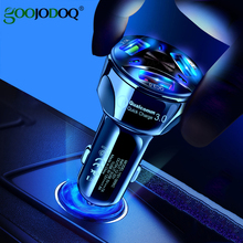 Universal Dual USB Car Charger 5V 3.1A Mini Charger Fast Charging With LED for Mobile Phone Smart phone Xiaomi Samsung iPhone X