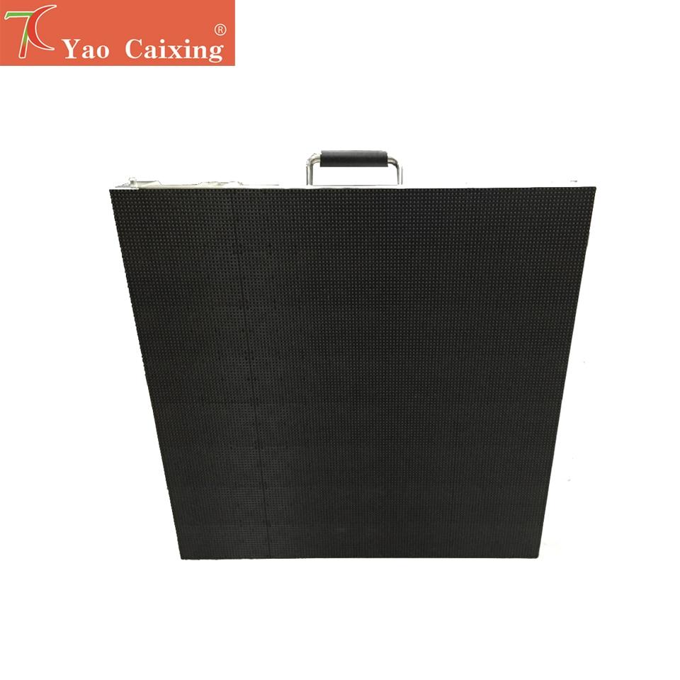Most Popular P4.81 Indoor 500*500mm Die-casting Aluminum Cabinet Rental Led Display