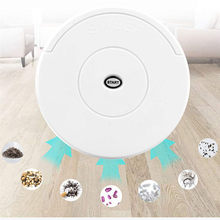 Floor Mopping Robot Small Household Smart Sweeping Robot Automatic Sweeper Wireless Vacuum Cleaner Automation Cleaning(China)