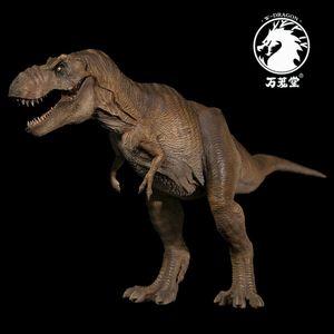 Image 3 - Stokta var!!W ejderha 1:35 ölçekli Rexy heykeli kadın Tyrannosaurus Rex Jurassic dinozor t rex toplayıcı Dino yetişkinler oyuncak hediye