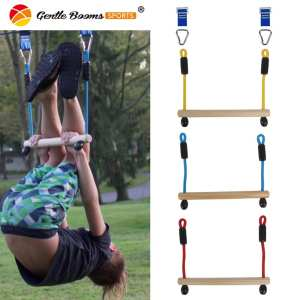 Ninja Slackline Monkey Bars, Gym Obstacle Course for Kids and Adults, Warrior Training Obstacle Course Equipment, Gymnastic Bar