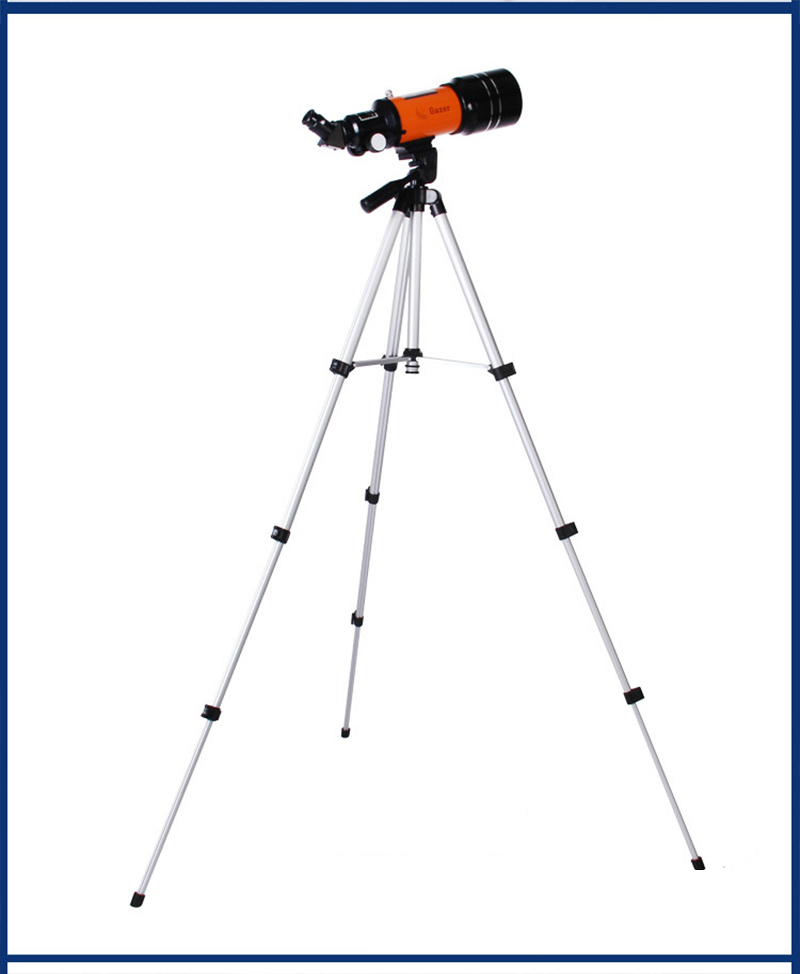 Hd telescópio astronômico profissional visão noturna espaço