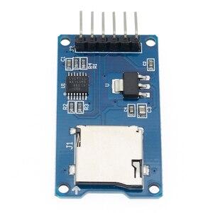 Image 4 - 100 Pcs 高品質の良いマイクロ Sd ストレージボード TF カードリーダーカードメモリシールドモジュールの Spi