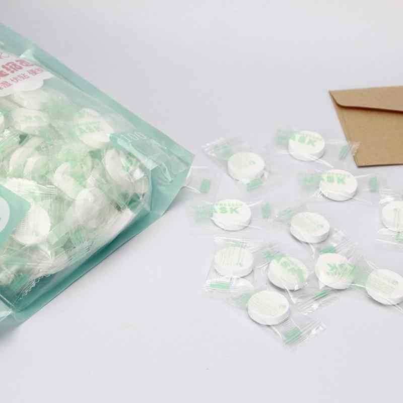 50 قطعة/الحقيبة المتاح مضغوط Facemask القطن غير المنسوجة أقراص أقراص لتقوم بها بنفسك أداة العناية بالبشرة