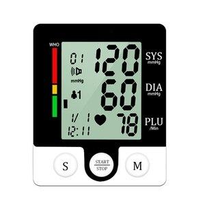Image 5 - Rosyjski głos nadgarstka tonometr sprzęt medyczny Monitor ciśnienia krwi aparat do pomiaru ciśnienia urządzenia