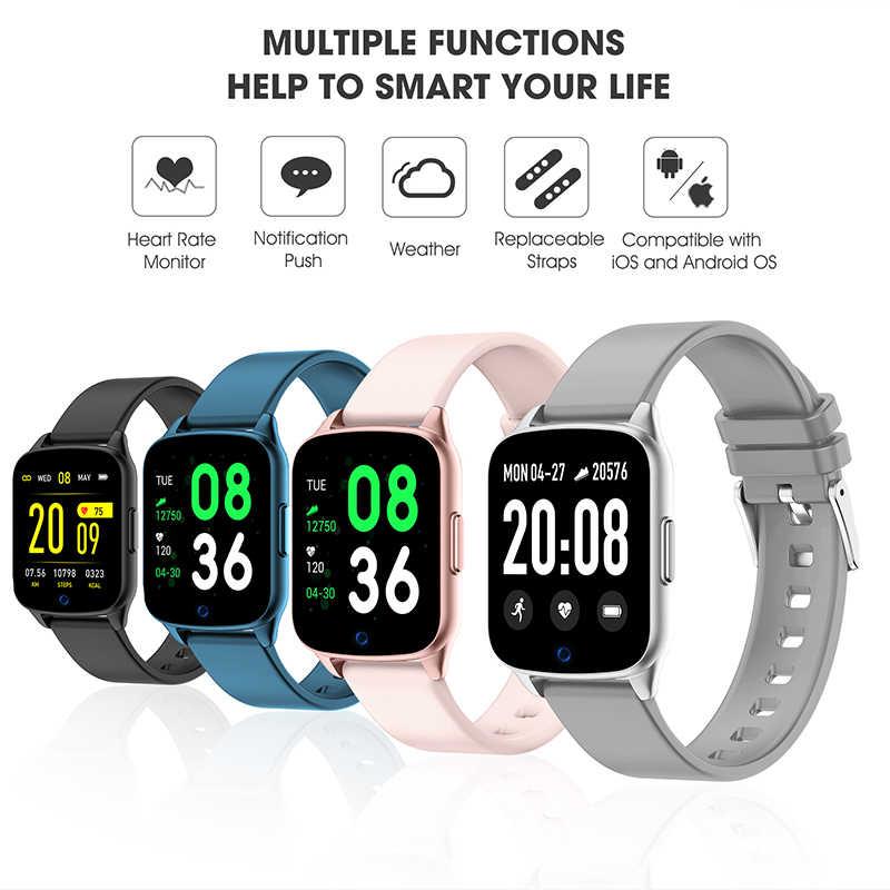 BANGWEI smart watch רצועת 22 MM צמיד עמיד למים סיליקון צמיד עם שחור כחול אדום אפור ירוק עבור BW0040 BW0051 BW0060