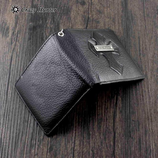 Leather Wallet w/ Key chain 2