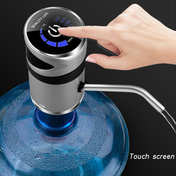 Intelligent Automatic Electric Portable Water Pump Dispenser Gallon Drinking Bottle Switch Silent Charging Touch