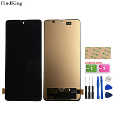 Mobile LCD Display For Samsung Galaxy A71 A715 A715F A716 M51S LCD Display Assembly Touch Screen Digitizer Sensor Tools