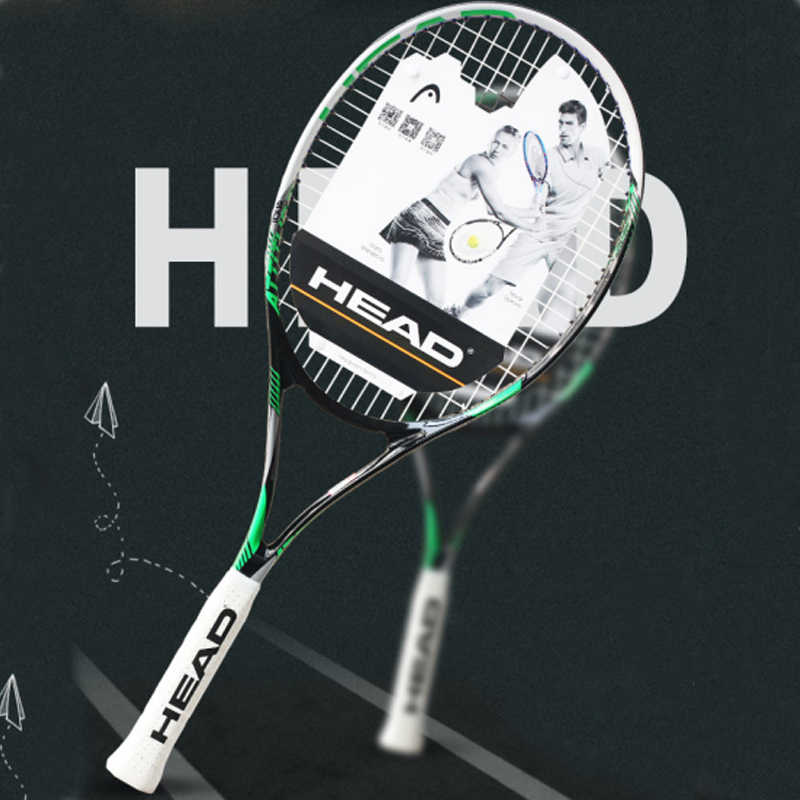 HEAD Tennis Racket Professional Carbon Tennis Racquet With Bag Tennis Padel String Overgrip Tennis Racket Tenis Raqueta Grip