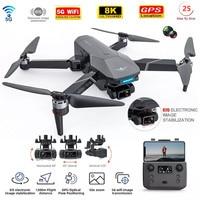 GPS Drone 8k videocamera HD EIS 3 assi giunto cardanico angolo regolabile 90 ° GPS seguimi 5G Wifi FPV Professional RC Drone RC Quadcopter
